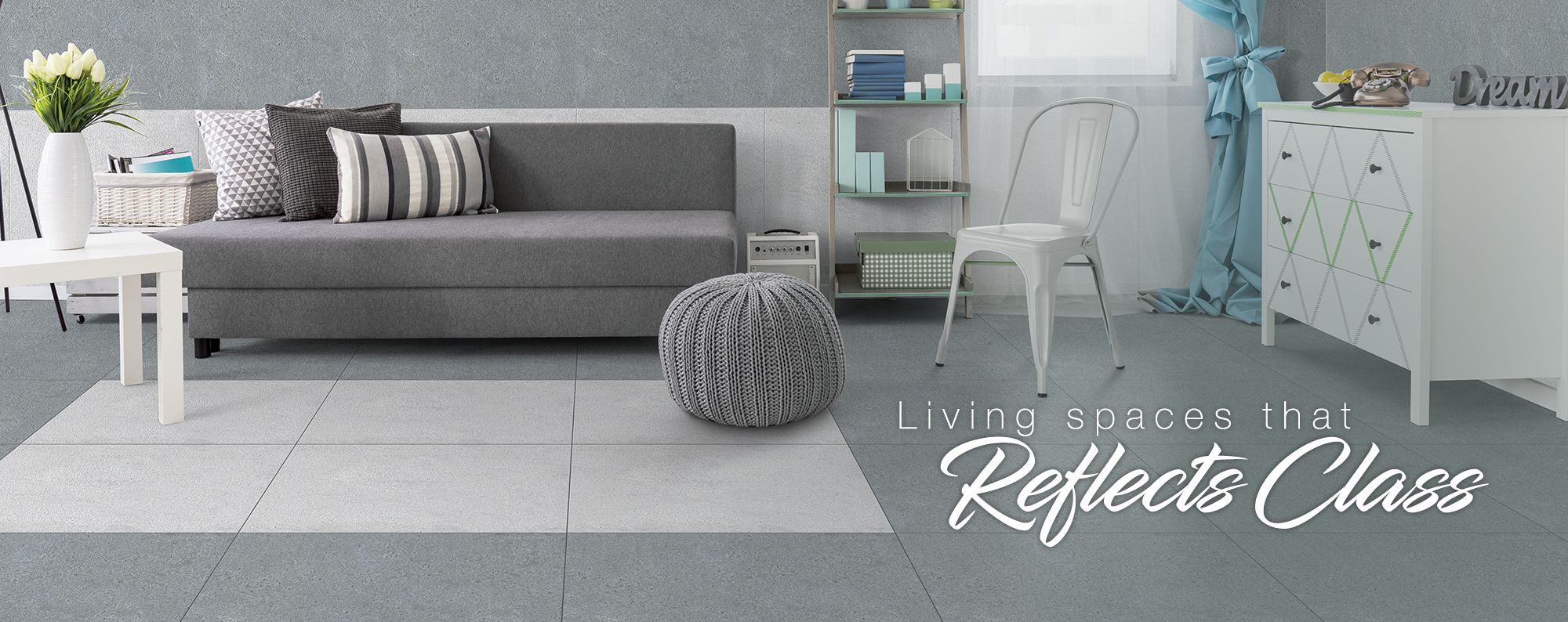 Collection Of Wall Tiles And Floor Tiles For Living Room Somany